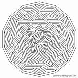 Coloring Pages Complex Mandala Anxiety Level Autism Geometry Templates Therapy Template Stencil Imgur sketch template