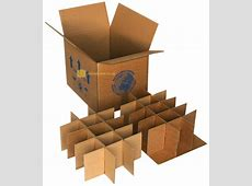 Packing Boxes for Glasses Cardboard Packaging Moving
