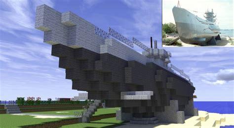 Minecraft U Boat Mod by U 995 German U Boat Minecraft Project
