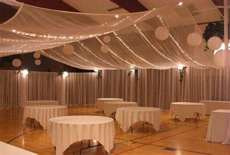 banquet hall wedding decor church banquet parties and