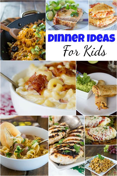We have lotsof easy dinner ideas for picky eaters for you to select. Dinner Ideas for Kids - do you have picky eaters in your ...