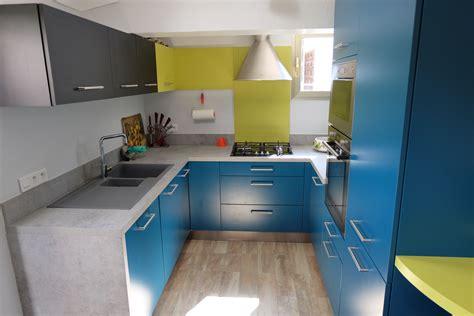 cuisine verte et grise photo cuisine grise et 10 cap sur les cuisines