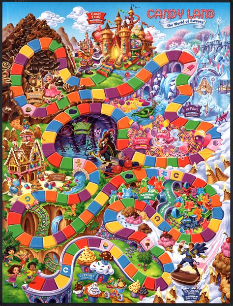 Kim Scarborough: things I like: games: Candy Land: 2010