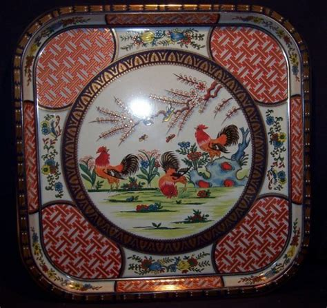daher decorated ware tin tray daher decorated ware square 13 5 metal tray