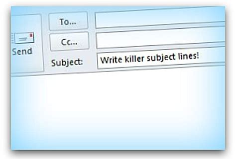 What To Write In An Email Subject When Sending A Resume by How To Write Killer Email Subject Lines Articles