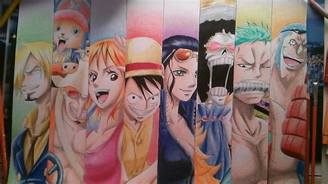 drawing  strawhat pirates speed drawing  piece
