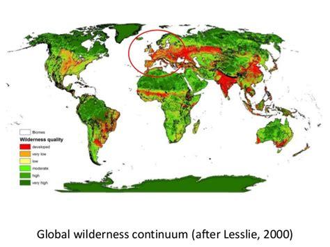 wilderness europe continuum mapping register focus special european