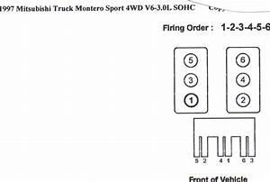 2001 Mitsubishi Montero Sport Spark Plug Firing Order