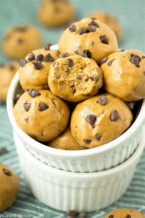 Kitchen Essentials Cookie Dough by 3 Ingredient Chocolate Chip Cookie Dough Protein Bites