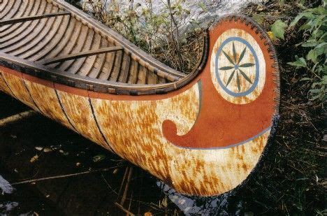 Canoes Used In The Fur Trade by Henri Vaillancourt Makes Indian Birchbark Canoes That Were