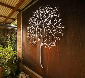 3d Wall Art : autumn tree 3d wall art iron bark metal design ~ Sanjose-hotels-ca.com Haus und Dekorationen