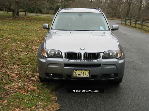 Bmw X3 2006 3 0i 6  Speed Manual Transmission And System