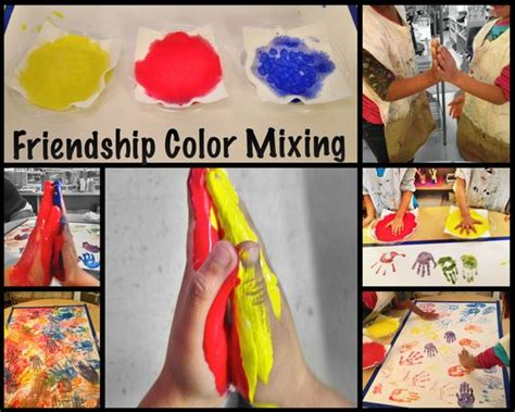 fantastic friendship activity with color mixing so 786 | 34921429b893e9ef842849276faeaa99