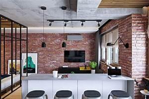 Aménagement Petit Appartement : am nagement pratique pour petit appartement ~ Nature-et-papiers.com Idées de Décoration