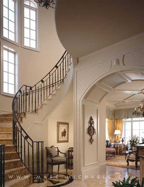 wrought iron staircase contemporary entrance design vero
