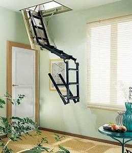 Escalier Escamotable Grenier : un escalier escamotable pour quoi faire batirenover ~ Melissatoandfro.com Idées de Décoration