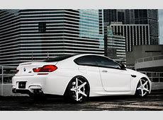 DUB Magazine BMW M6 White on White