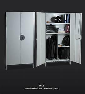 Armoire D Atelier : armoire d 39 atelier m tallique pour rangement ~ Teatrodelosmanantiales.com Idées de Décoration
