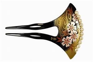 Geisha Hair Accessories (japanese Makie Kanzashi) 57 - Buy ...