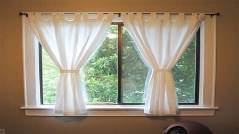 window treatments  short windows short window curtains