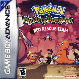 Pokemon Mystery Dungeon - Red Rescue Team (U)(RDG) ROM