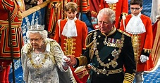 Queen Elizabeth, Prince Charles Attend Parliament State ...