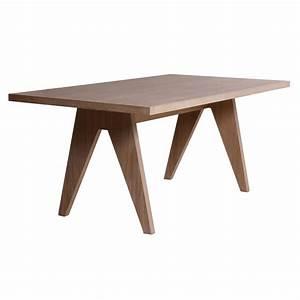 table de salle a manger rectangulaire en bois brin d39ouest With salle À manger contemporaineavec table salle a manger rectangulaire bois