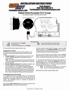 Glowshift Boost Gauge Wiring Diagram