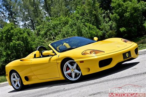 Today dan barry is walking around our 2001 ferrari 360 spider f1 edition. 2001 Ferrari 360 SPIDER/SPIDER F1 | Pinnacle Motorcars