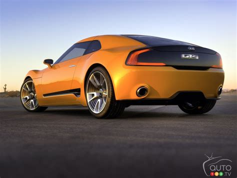 toronto  kia introduces gt stinger concept car