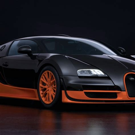 bugatti veyron super sport gold wallpaper  engine