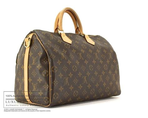 authentic louis vuitton monogram speedy bandouliere  bag