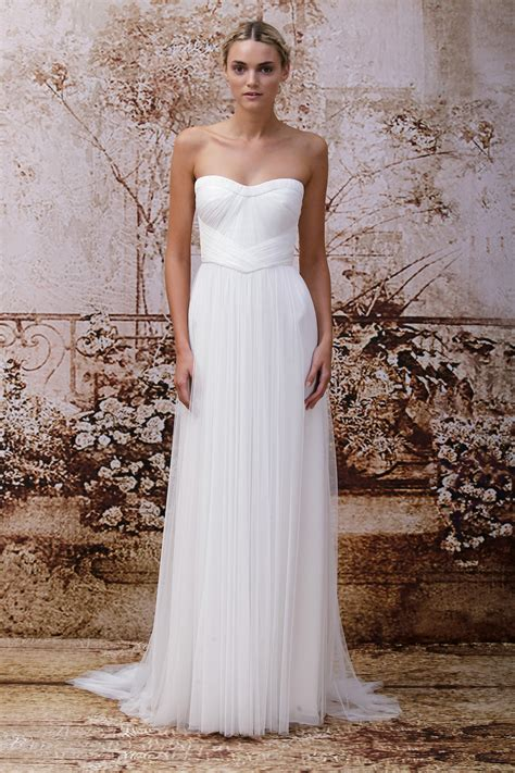 Wedding Dress By Monique Lhuillier Fall 2014 Bridal Look