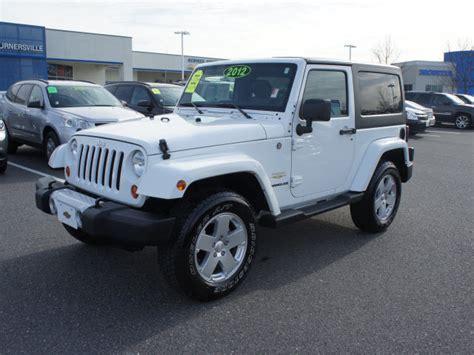 white jeep wrangler 2 door jeep wrangler white blackwood mitula cars