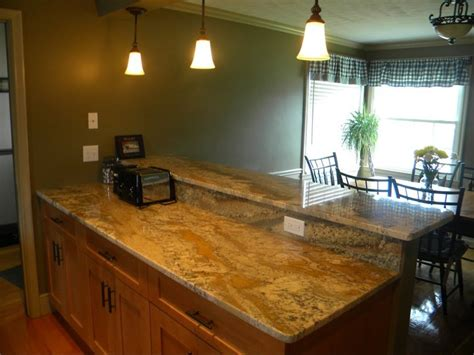 neptune bordeaux granite kitchen  beautiful lighting