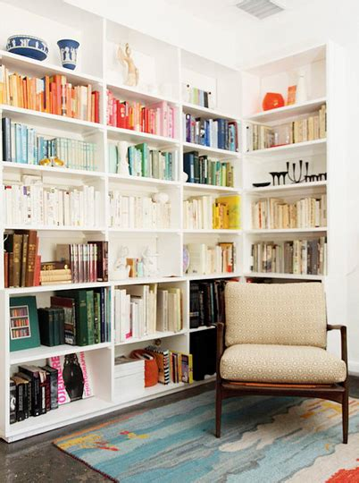 Arranging Bookcases by Bookshelf Arranging Items By Color Visual Vocabularie