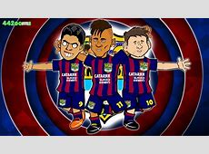 MSN SONG🎶 Bayern Munich vs Barcelona 32 PARODY Champions