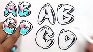 Bubble Letters Alphabet Graffiti   Cover Letter Example