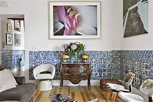 des azulejos pour une deco dans l39esprit portugais With carreaux de ciment espagne