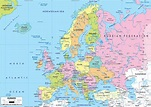 Information and thrill: Europe Maps
