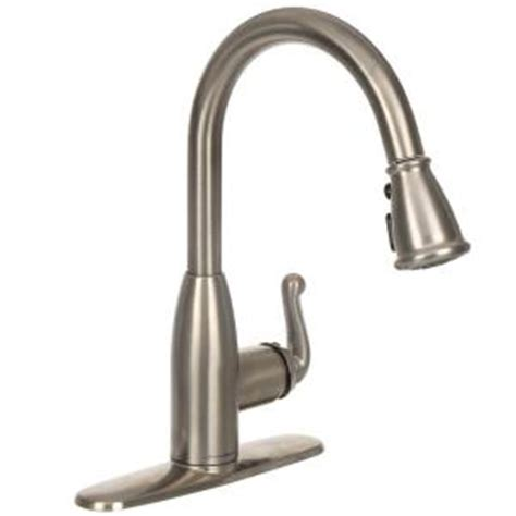 american standard hton kitchen faucet american standard symphony single handle pull down sprayer kitchen faucet in stainless steel