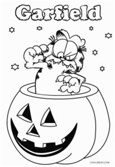 printable garfield coloring pages  kids coolbkids