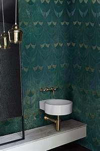 Papier Peint Pour Salle De Bain : papier peint salle de bain archives le blog d co de mlc ~ Dailycaller-alerts.com Idées de Décoration