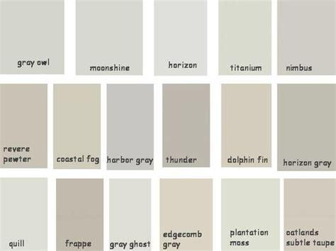 paint benjamin greige shades gray owl