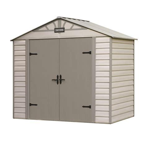 kmart metal storage sheds craftsman 8 x 5 vinyl coated steel shed durable storage