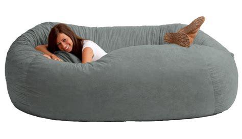 bean bag sofa chair giant bean bag sofa dudeiwantthat com