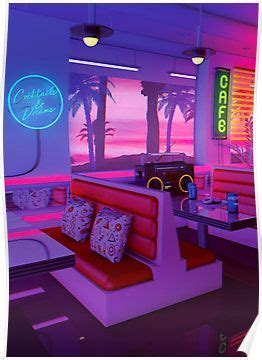 Aesthetic Vintage Neon Aesthetic Wallpaper by Cocktails And Dreams Poster Products In 2019 Neon