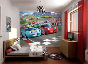 cars kinderzimmer car racer wallpaper mural wall murals ireland