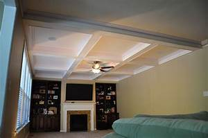 Interior design wooden coffered ceiling cost with cool for Interior designer cost plus
