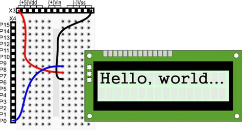 Homework Wiring Diagram by 2x16 Serial Lcd Backlit With Speaker Learn Parallax